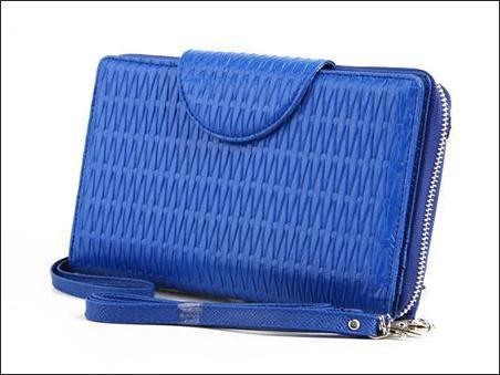 jual dompet wanita handphone organizer hpo wanita murah korea biru