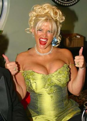 Anna boob nicole size smith think, that
