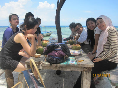 welcome drink pulau tidung