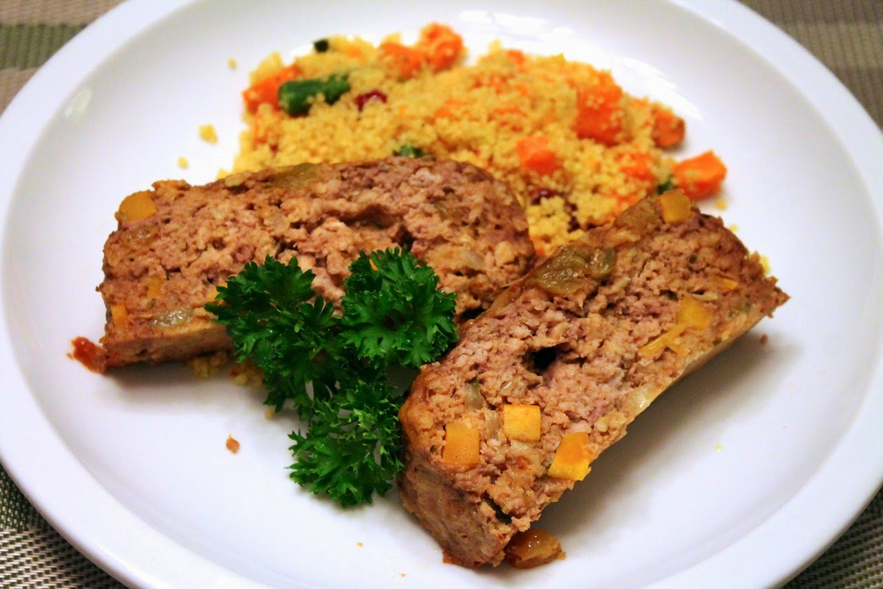 Cook In / Dine Out: Moroccan-Spiced Meatloaf