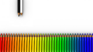 hd pics of colorful crayons white for pc