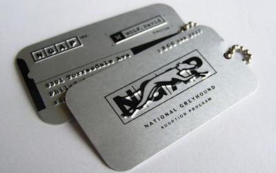 tarjetas de presentacion en metal