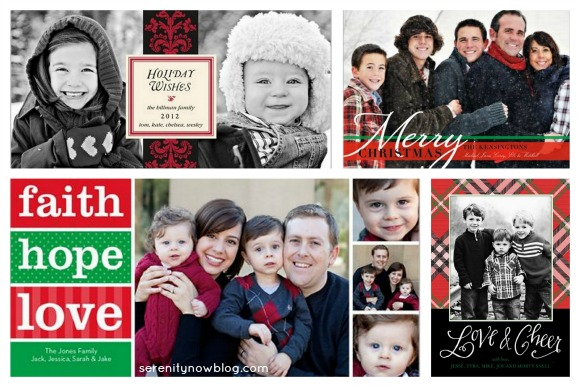 Shutterfly Classic Cards, via Serenity Now