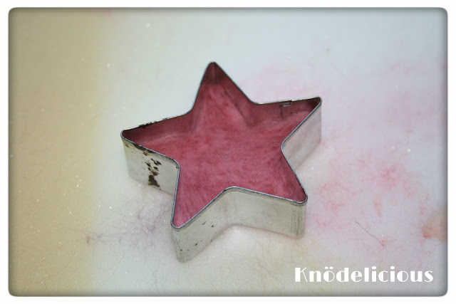 Nålefiltede stjerner. DIY. Knödelicious