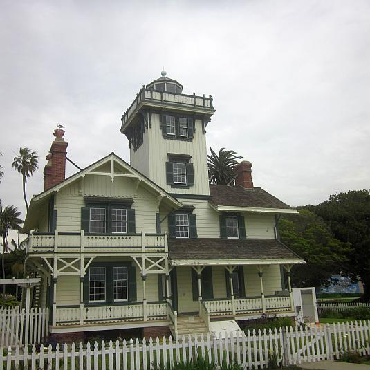 Point Fermin Lighthouse, San Pedro, 1874