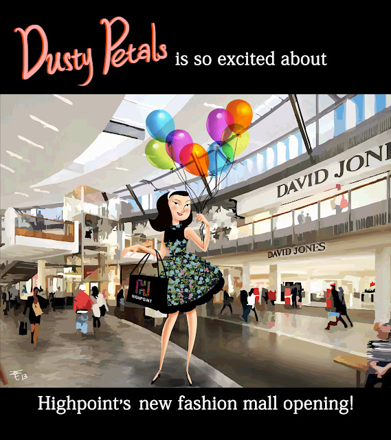 Dusty Petals Celebrates Highpoint's New Fashion Mall