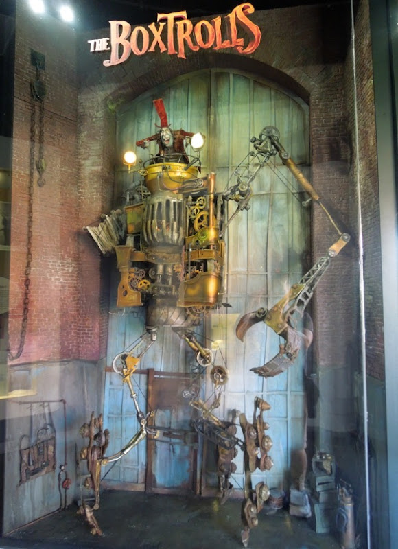 The Boxtrolls stop-motion animation exhibit