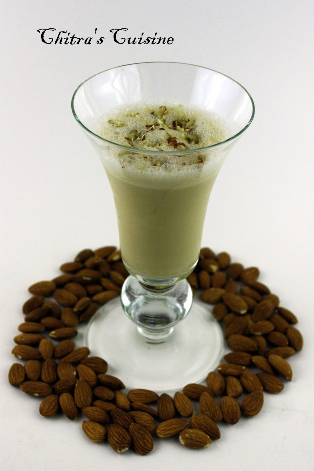 creamy maple shake