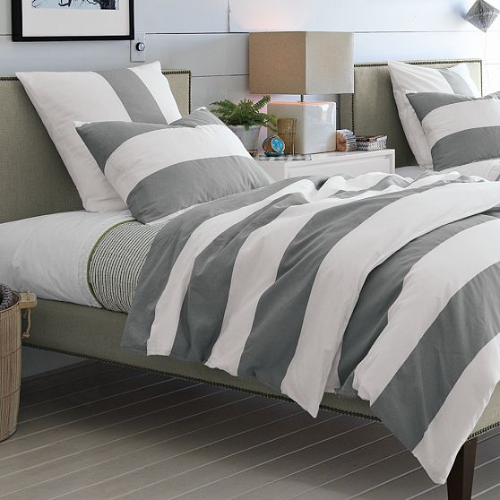Bright Smile Hi Low Grey Bedding