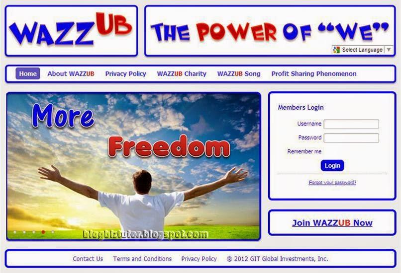 Cara Mendapat Passive Income Dari WAZZUB