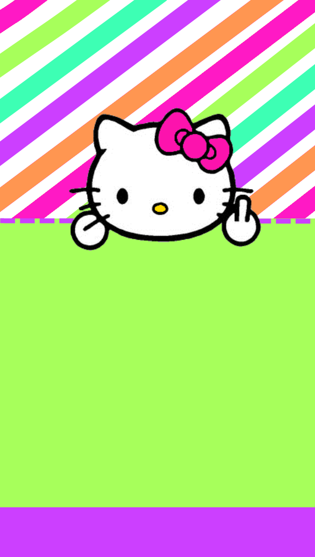 MsStephieBabys Themes N Thangs  New Hello Kitty WallsEnjoy