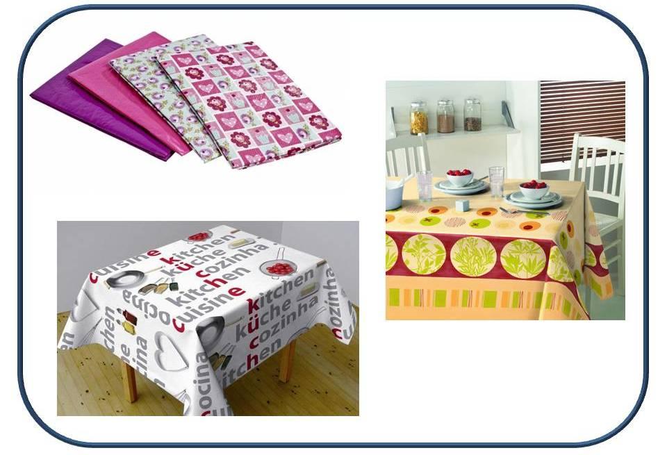 Quedamos en el blog vestimos la mesa - Manteles de hule ...