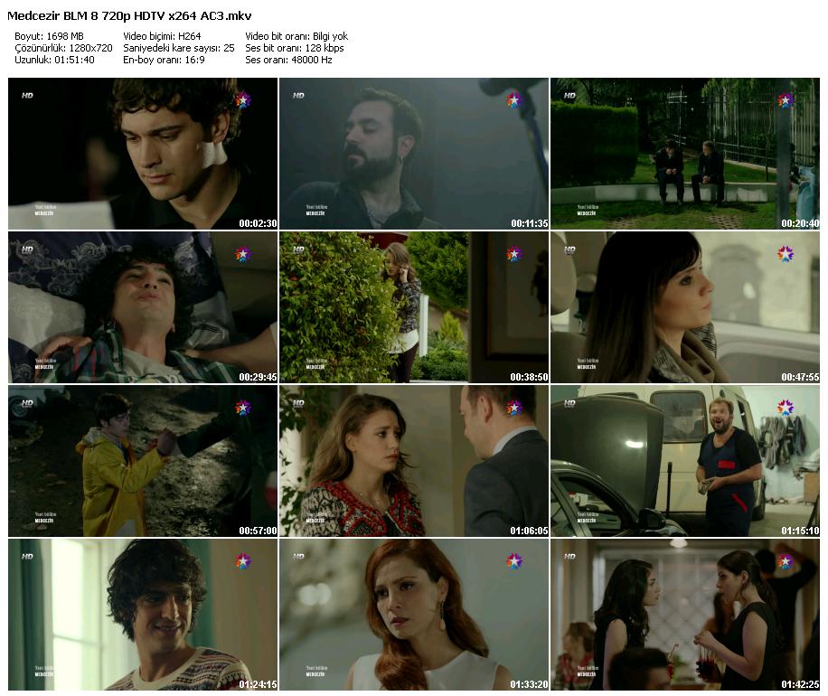 Medcezir 8.Bölüm (08.11.2013) 720p HD Tek Link Dizi İndir