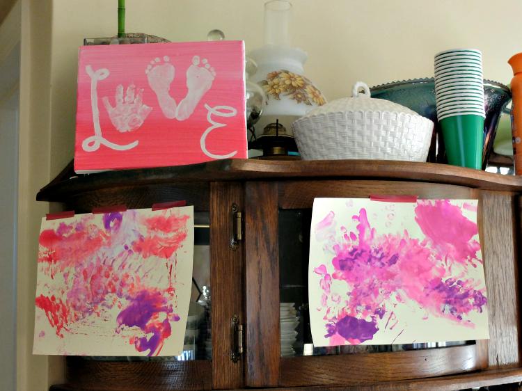 arts & crafts for Valentine's Day