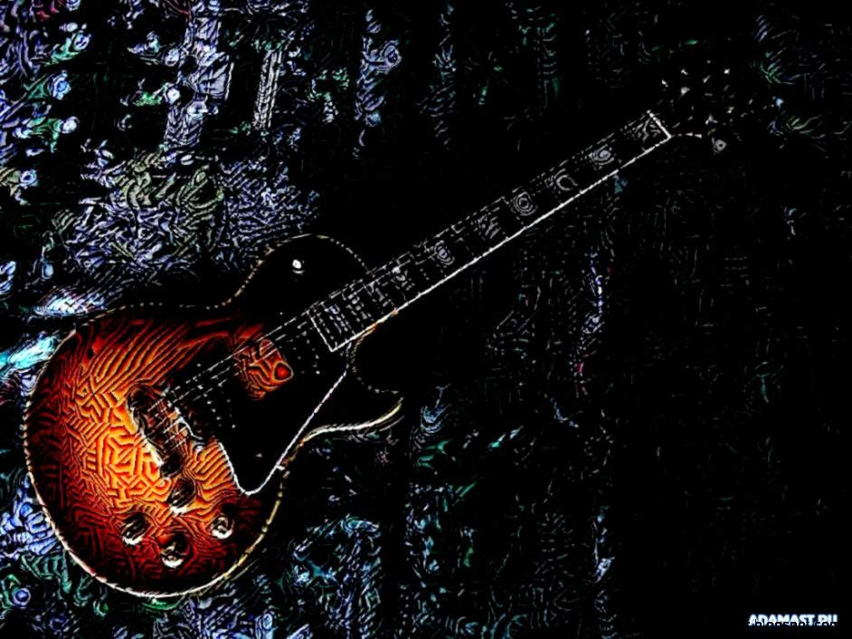 View Original Size Cool Guitar Wallpapers Collection