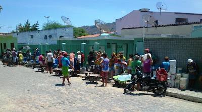 A Cidade de Panelas está em estado de emergência com a falta d'água