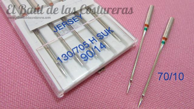 Coser telas elásticas con el prensatelas para bordes sobrehilados falso overlock aguja de bola punta redonda