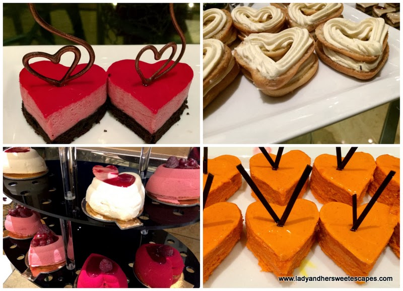Desserts at Arabesque Cafe