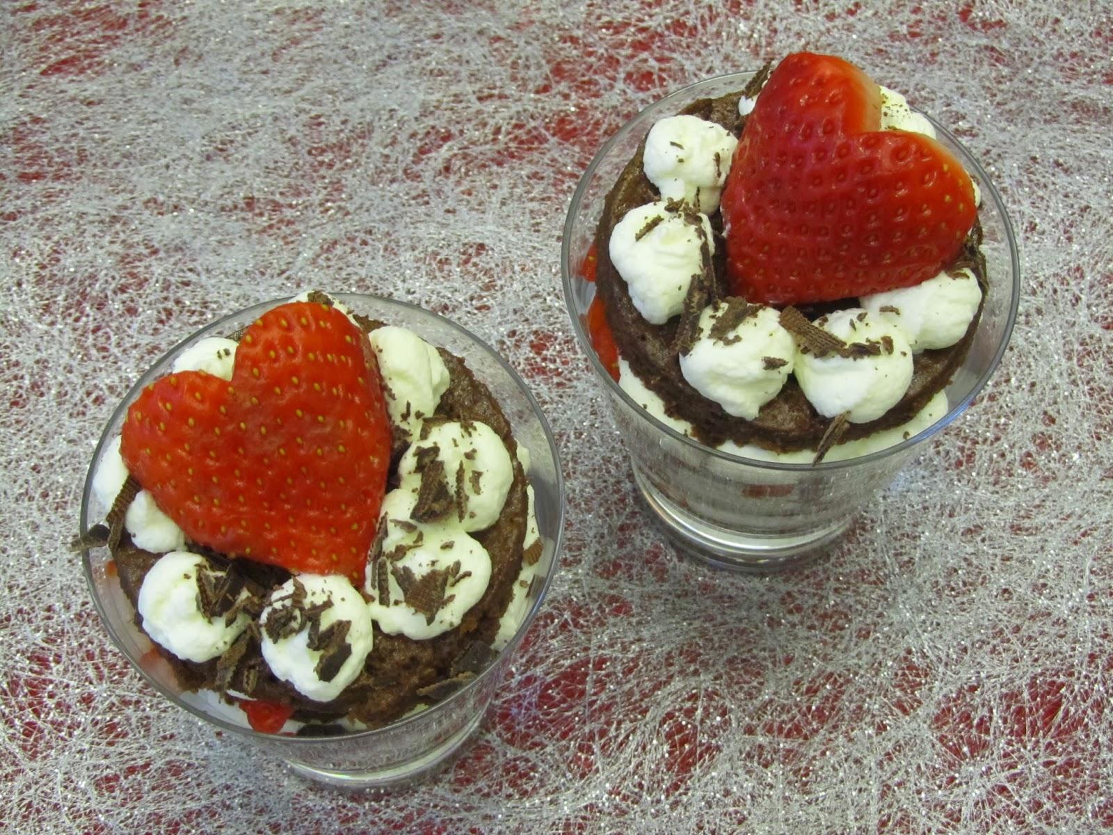 Black Forest Valentine, ystävänpäivän jälkiruoka