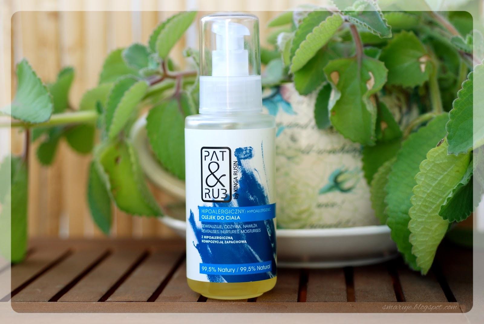 Cośtu pachnie facetem... Pat&Rub – Hipoalergiczny Olejek do Ciała [recenzja]