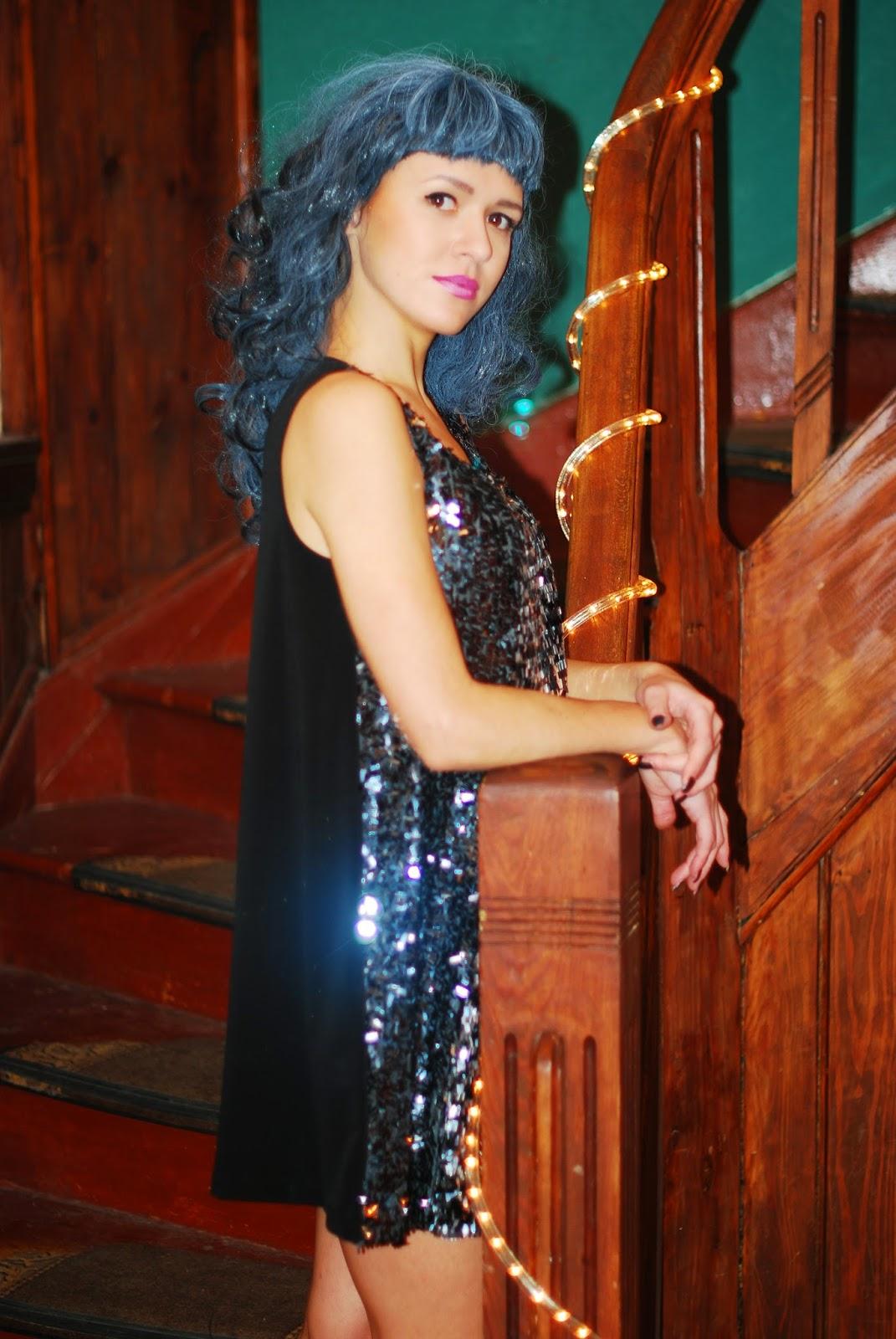 Cekinowa sukienka MARACHIC, sukienka na sylwestera, karnawała, karnawałowe kreacje 2015