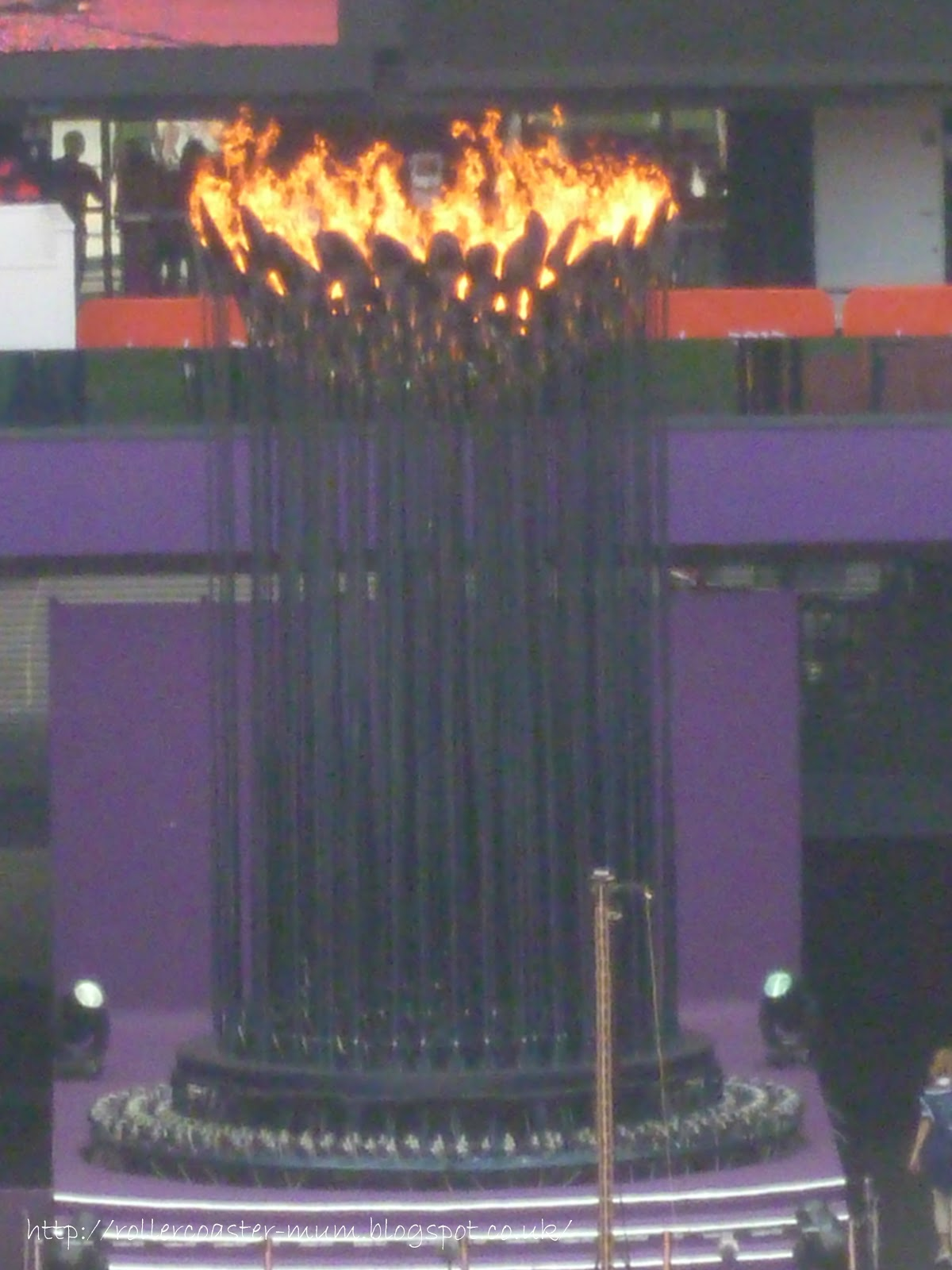 Olympic flame 2012