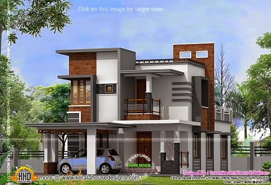 September 2014 kerala home design and floor plans for Low cost house plans in kerala with images