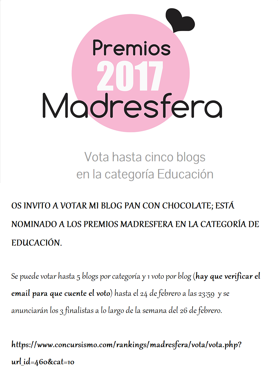 PREMIOS MADRESFERA 2017-EDUCACIÓN