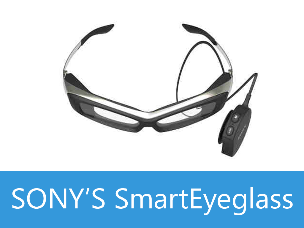 Sony's SmartEyeglass, Google Glass' RIval, To Go On Sale by the End of March