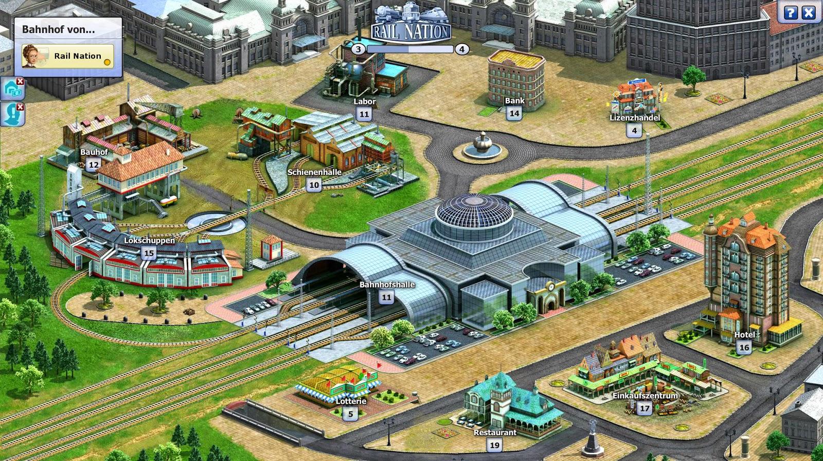 Rail Nation, un simulador de trenes gratis en tu navegador