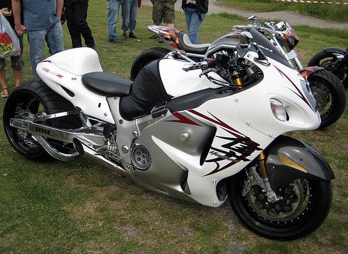 Beautiful Bikes Suzuki Hayabusa Turbo