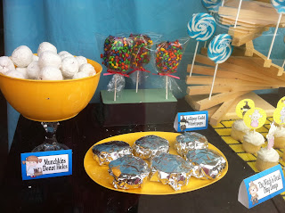 Wizard of Oz Dessert Table with Homemade Ding Dongs