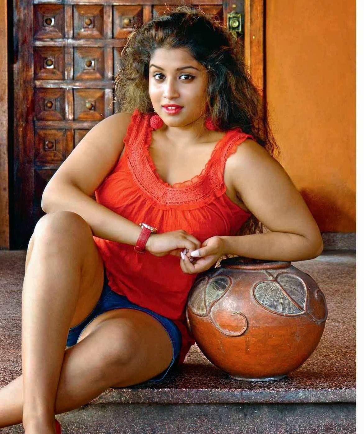 Beautiful Sri Lankan model