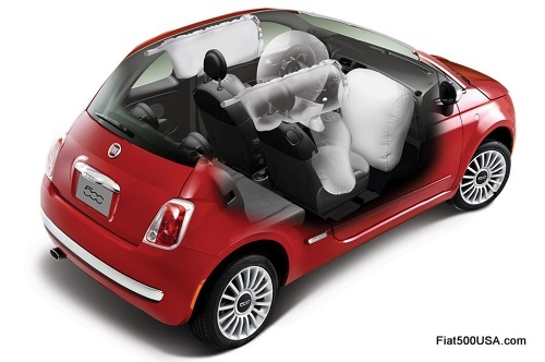 Fiat 500 Airbags