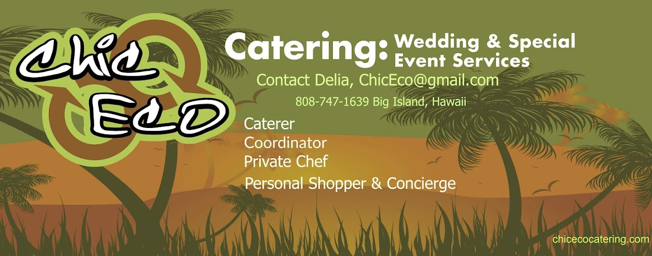 Chic Eco Catering + Special Event Coordination
