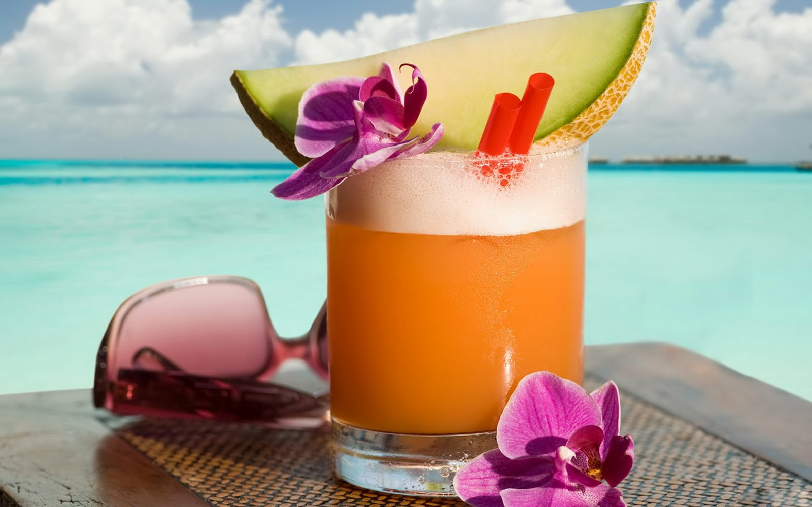 Melon Juice Cocktail