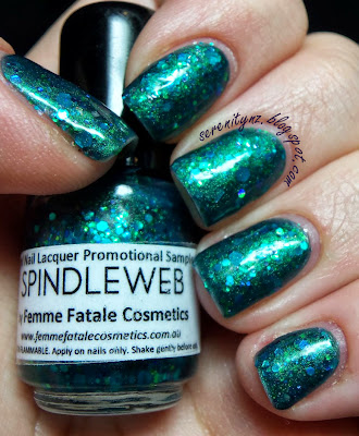 Femme Fatale Spindleweb Swatch