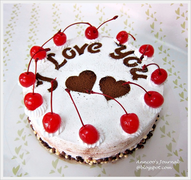 Black Forest Cake Anncoo Journal