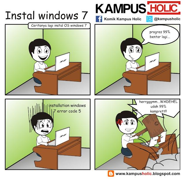 #003 instal windows 7