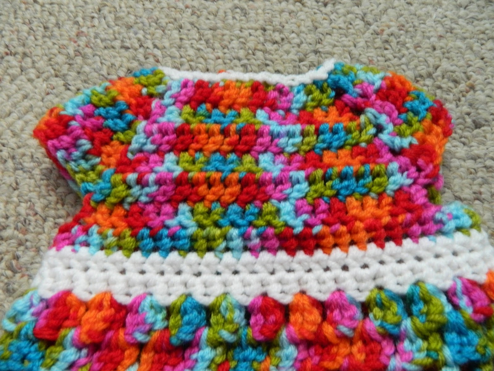 Bethany Sew-and-Sew: Crocheted Sweet Little Sundress Example