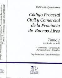 Cod. Procesal Civil y Comerc. TOMO I