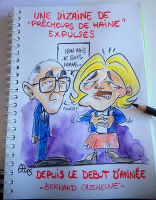 """Des """"Prêcheurs de haine"""" expulsés GuillaumeNéel©"""