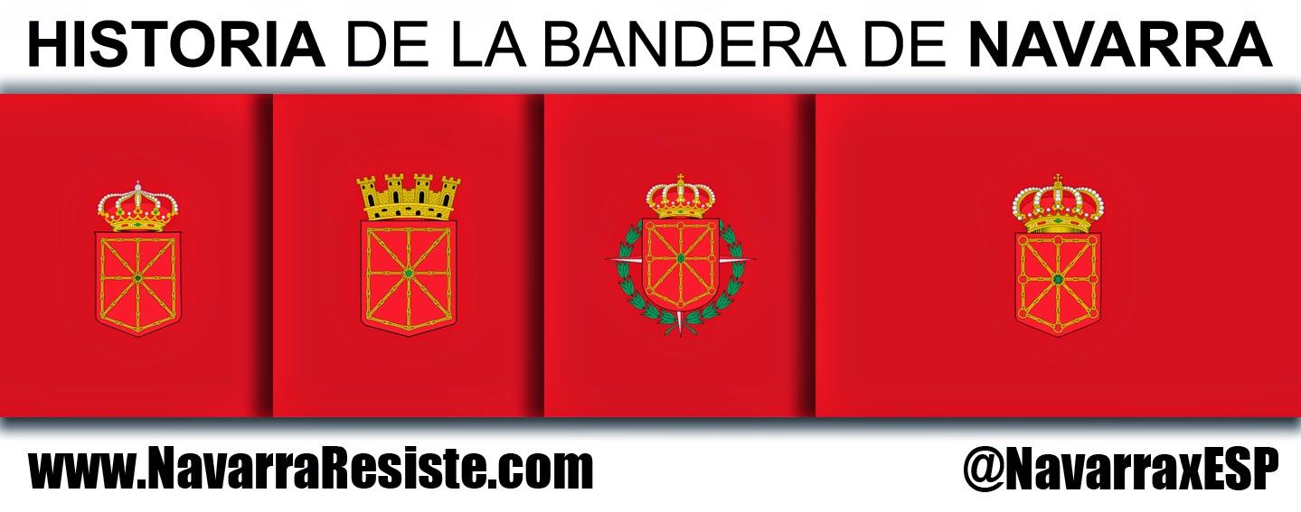 Historia de la bandera de Navarra