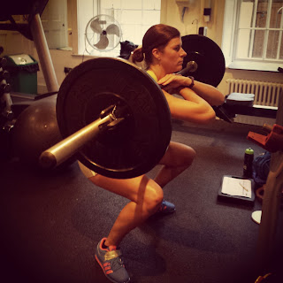 Front Squat Personal Training Clifton