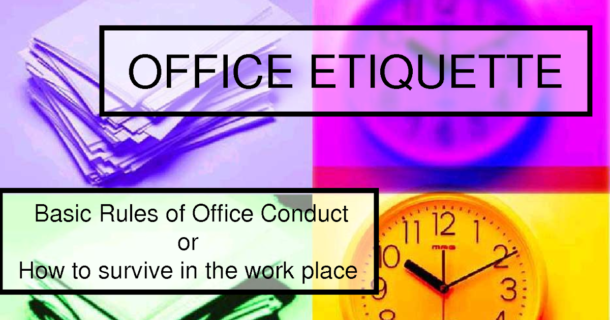 workplace ettiquette Expressing yourself through email is helpful and many times necessary but it is important to know the audience you are corresponding with read on to learn how to use email etiquette in the workplace.