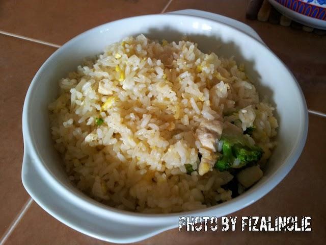 Nasi Goreng Simple Permintaan Si Kakak