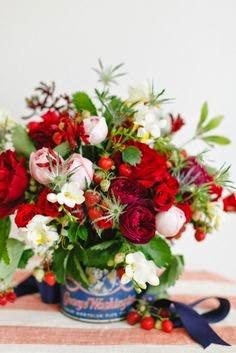http://www.stylemepretty.com/2014/07/02/diy-strawberry-flower-arrangement/