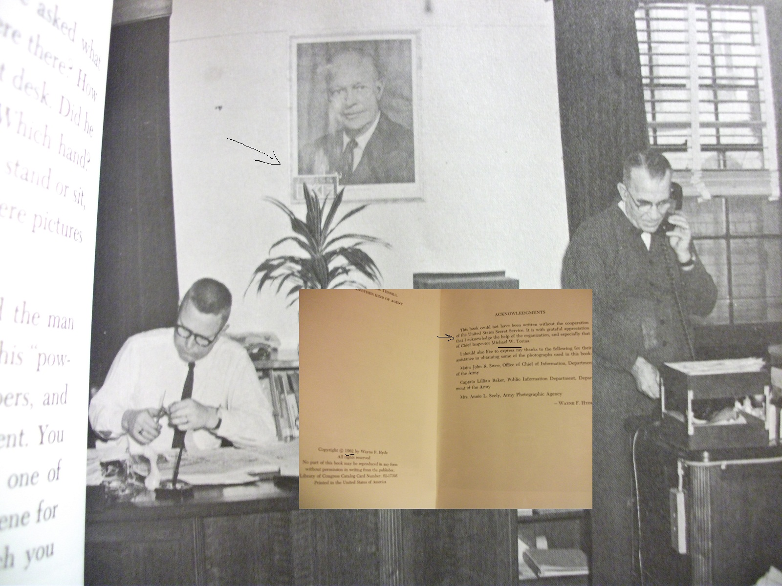 "From 1962 book ""What Does A Secret Service Agent Do?"" SECRET SERVICE HEADQUARTERS"