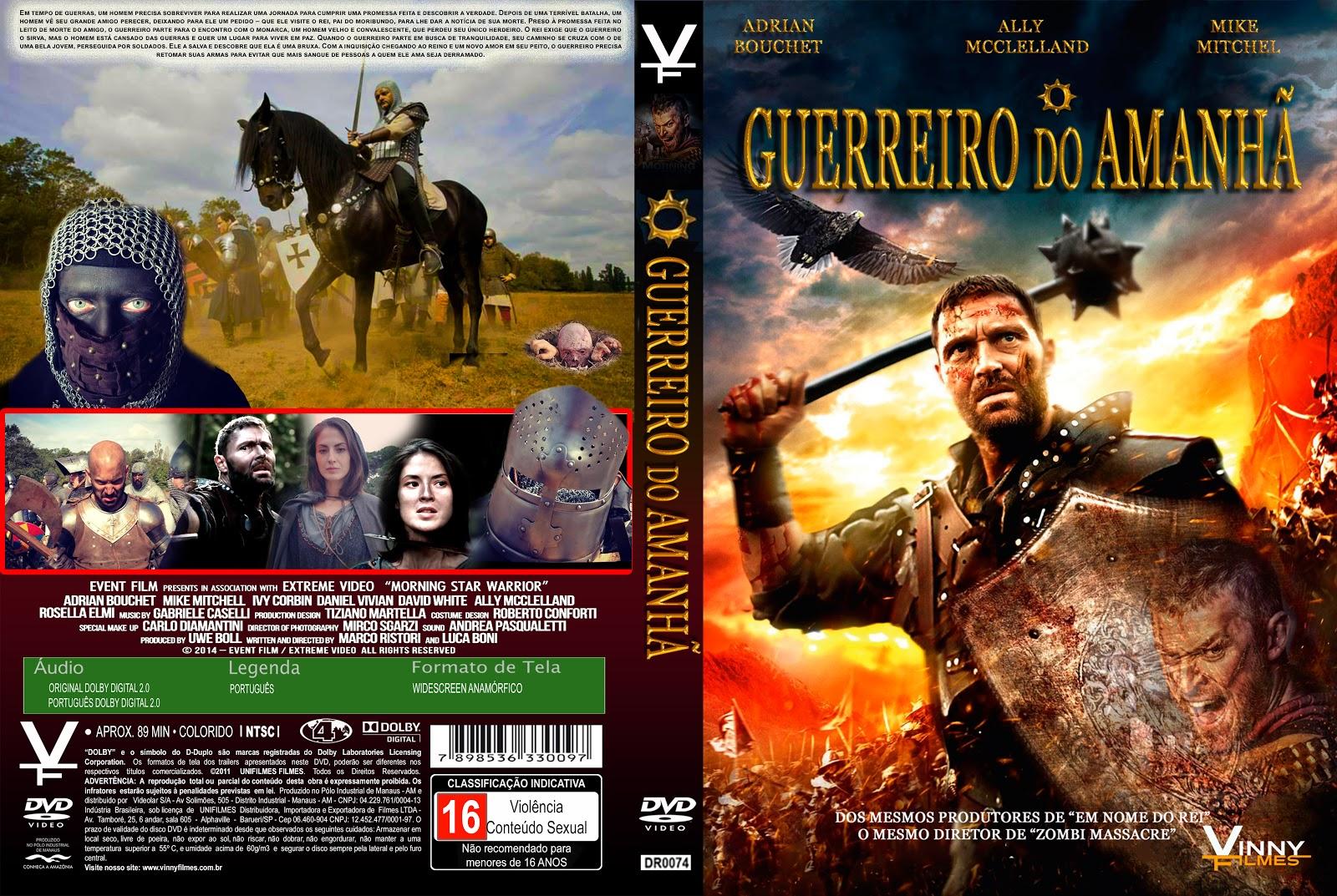 Capa DVD O Guerreiro Do Amanhã