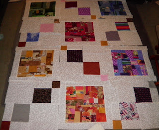 Made Fabric Blocks Layout